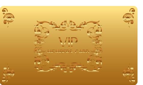 VIPカードデザインOM05